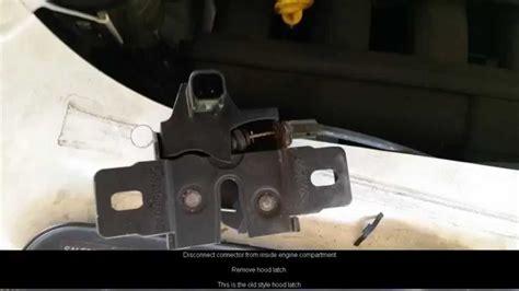 install  hood alarm switch  land rover lr