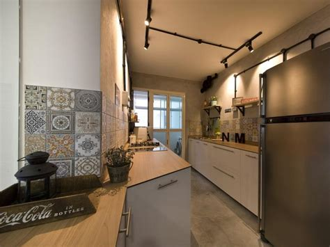 hdb 4 room kitchen design house tour and modern in this 4 room bto hdb 7015