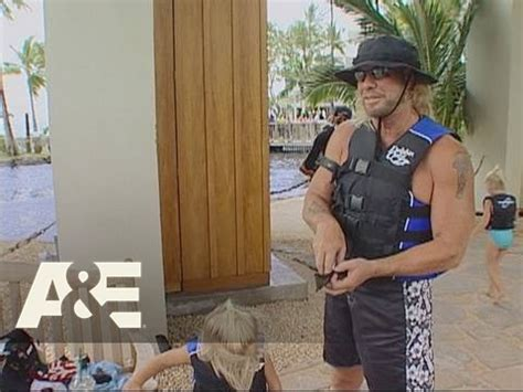 dog the bounty hunter a day at dolphin quest a e youtube