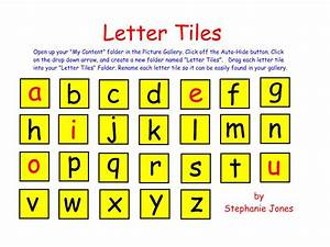 These letter tiles can be used in your smart notebook for Letter tiles