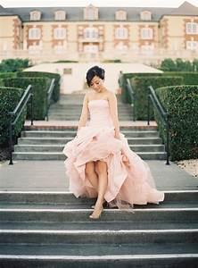 an alternative to ivory 10 inspiring blush wedding With vera wang blush wedding dress