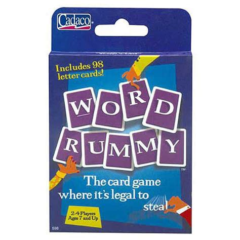 Kids toys online toy store for kids' toys, girls' toys, boys' toys and toddler toys. Word Rummy Card Game - Cadaco 1001275 - Party Games - FAO Schwarz® | Rummy card game, Card games ...