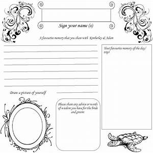 book birthday guest book template With birthday guest book template
