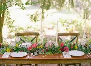 Chemin De Table Design : d co de table printemps 50 suggestions irr sistibles ~ Teatrodelosmanantiales.com Idées de Décoration