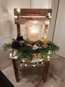 Weckgläser Weihnachtlich Dekorieren : stuhl deko weihnachten weihnachtsdeko weihnachten ~ Watch28wear.com Haus und Dekorationen