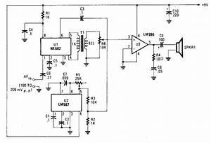 Voice Scrambler Or Descrambler Circuit Diagram