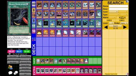 Yugioh! Blackwing Deck March 2013 Format  Kalut At 3