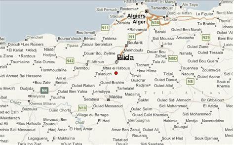 Carte Sat Algerie by Blida Carte Et Image Satellite