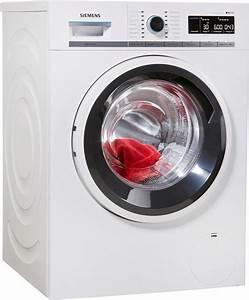 Waschmaschine 9 Kg : siemens waschmaschine iq700 wm14w7eco 9 kg 1400 u min online kaufen otto ~ Markanthonyermac.com Haus und Dekorationen