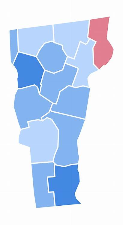 Vermont Election Presidential Results Svg Clipart States