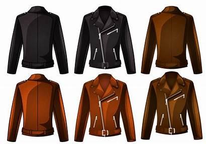 Jacket Clipart Leather Cool Coat Jackets Vecteezy