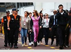 Cara Delevingne arrives at Monaco Grand Prix with