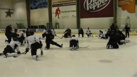 Stars practice rink. | Dallas stars hockey, Stars hockey ...