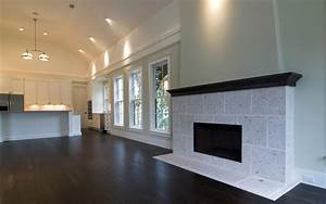 Architecture living room empty interior design wallpaper ...