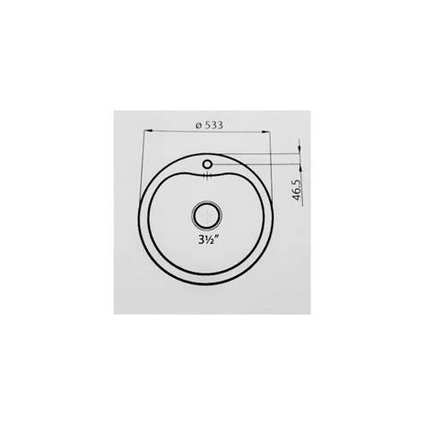 lavello 60 cm lavello foster circolare semifilo 1051060 53 60 cm