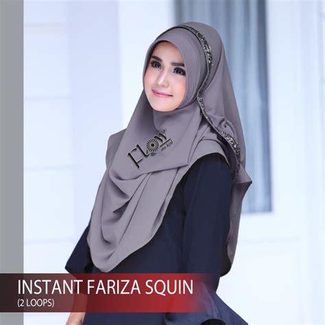 variasi jilbab instan jilbab pashmina instan fariza squin terbaru 2018 bundaku net