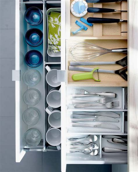 kitchen drawer organizing ideas picture of kitchen drawer organization ideas
