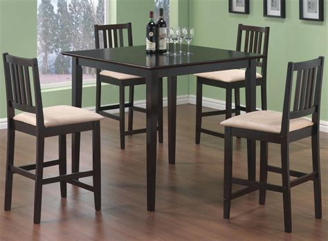 kitchen tables sets archer 5 counter height dining set counter height