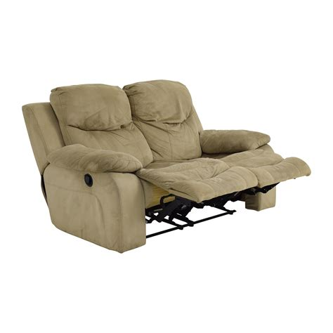 Used Reclining Loveseat by 75 Bob S Furniture Bob S Furniture Grey Dual