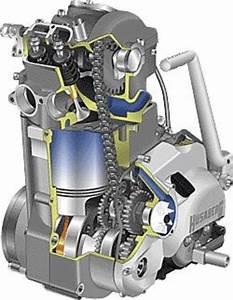 Husaberg 400 501 600 Engine Service  U0026 Repair Manual