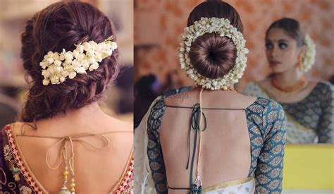 easy ways  include gajra   hairstyle