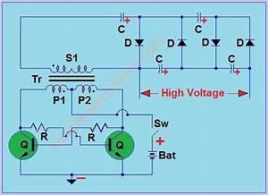 Mosquito Racket Circuit