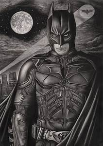 'The Dark Knight' graphite drawing by Pen-Tacular-Artist ...