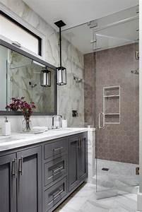 salle de bain taupe 35 idees d39amenagement avec un With salle de bain taupe et gris
