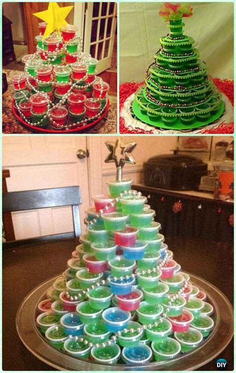 diy holiday jello shot recipes  christmas