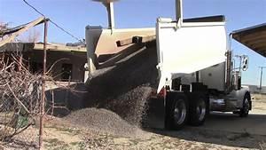 Ten Tons of Gravel! Watch this Dump Truck! - YouTube