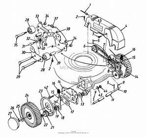Honda Lawn Mower Engine Diagram Tecumseh Lawn Mower