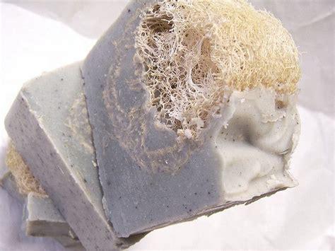 Lavender Mint Marjoram Loofah Soap