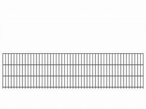 Doppelstabmattenzaun Anthrazit 8 6 8 : doppelstab gittermatte schwer 8 6 8 ral 7016 anthrazit h he 630mm ~ Buech-reservation.com Haus und Dekorationen