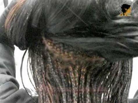 tishas braids weave  singles front youtube