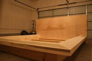 build your own king size platform bed frame Quick
