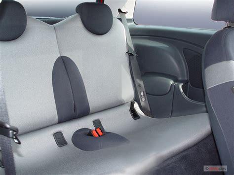 image  mini cooper hardtop  door coupe  rear seats