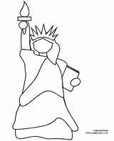 Liberty Statue Coloring Pages Printable Cartoon Sheet Kindergarten Afghan Twin Towers York Drawing Spirit Holy Gifts Cliparts Beck Getcolorings July sketch template