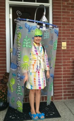 shower curtain costume coolest bath and shower costumes