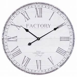 Maison Du Monde Horloge Murale : horloge d 60 cm carrington maisons du monde ~ Teatrodelosmanantiales.com Idées de Décoration
