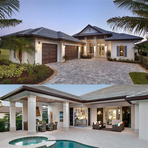 plan 66342we 3 bed beauty with 2 lanai building dream