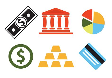 Bank Icon Vector Set Of Bank Icons Download Free Vector Art Stock