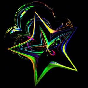 Rainbow Stars | rainbow star photo Animated-Fractal.gif ...