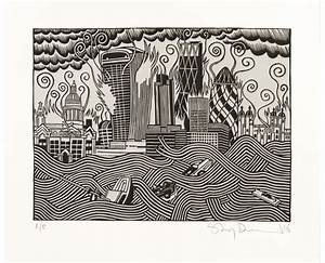 Stanley Donwood 'The Pollution Of New Troy' Print ...