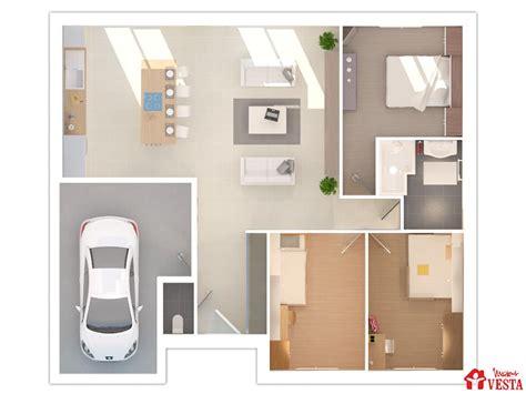 plan de maison moderne plain pied 4 chambres maison louisiane avec porche