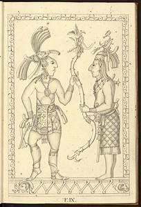 Facsimilium  Mayan Drawings From Palenque  18th Century
