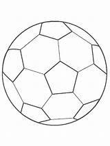 Coloring Soccer Ball Boys Colouring Printable Recommended Template Mycoloring sketch template