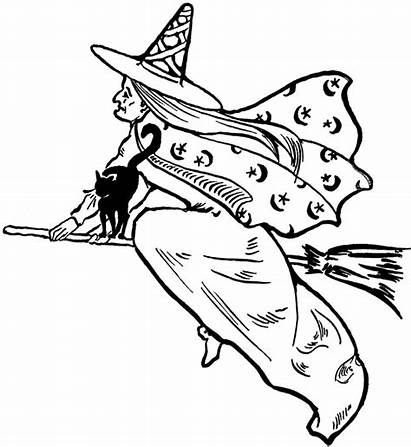 Witch Clip Clipart Flying Fairy Halloween Witches
