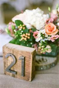 inspiration table numbers ultrapom wedding and event With wedding table number ideas