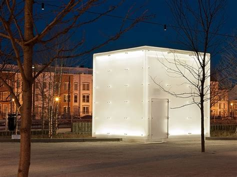 Canal Park. Frosted Acrylic Cube