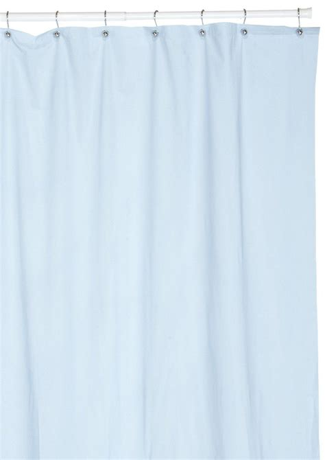 hotel quality 8 vinyl shower curtain liner light